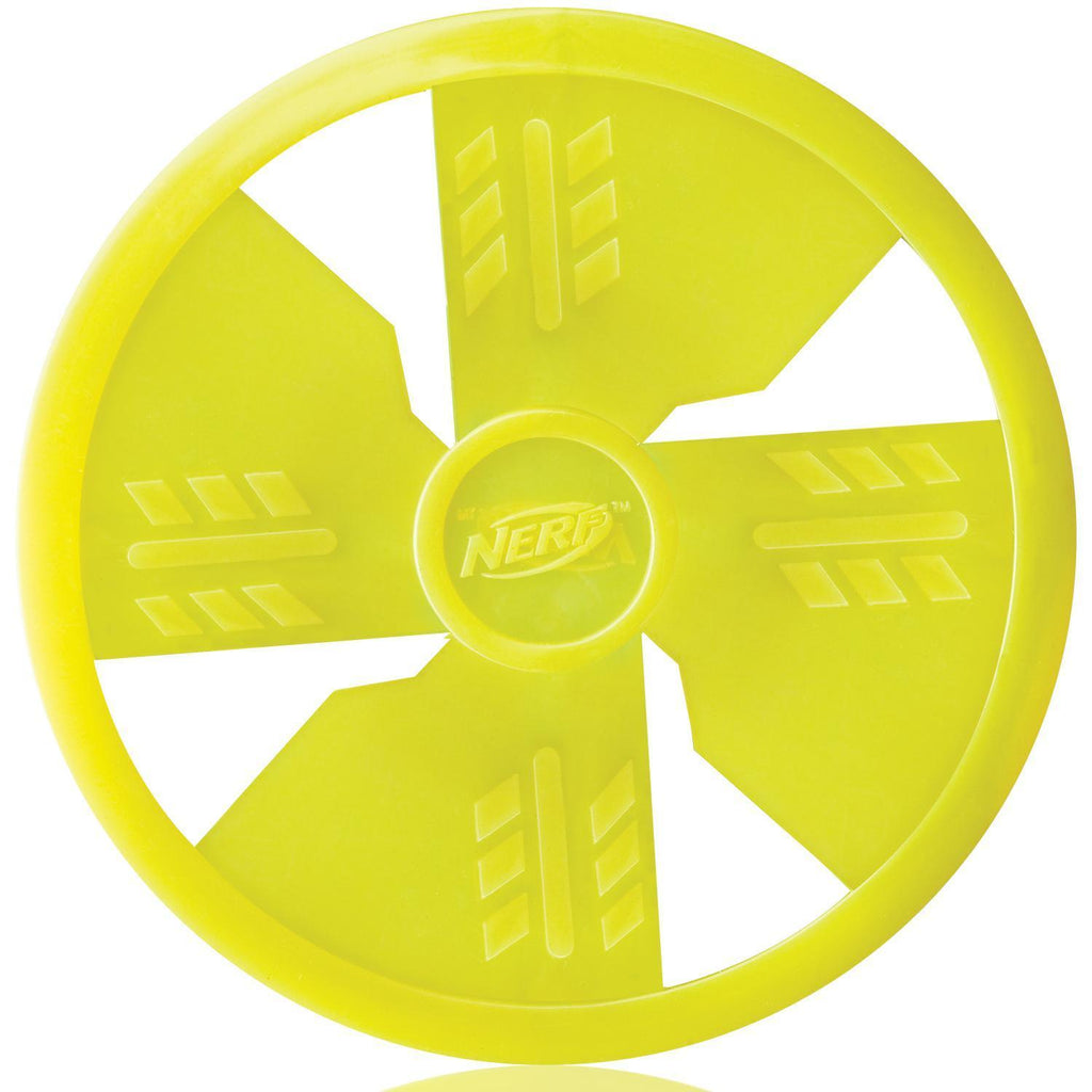 Nerf Dog Toy Frisbee Flyer, Green
