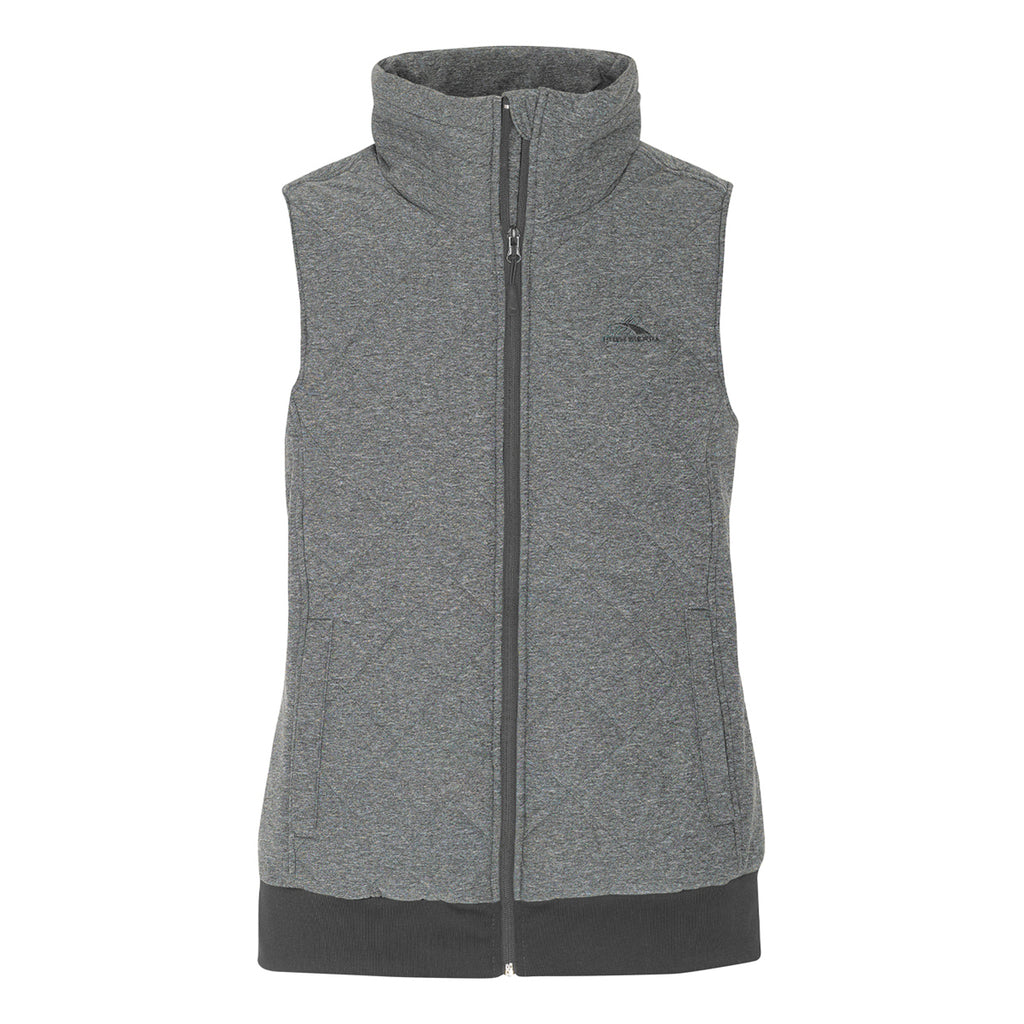 High Sierra Women's Lynn Insulated Vest Grey, Extra Large