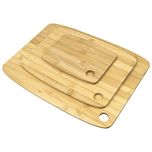 Home and Loft Collection 3-pc Bamboo Cutting Board