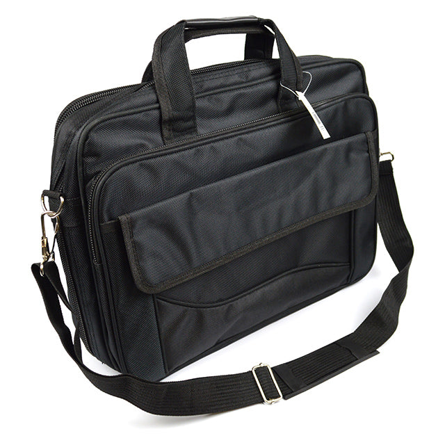 Image of Intellibrands Flightway Expandable Computer Briefcase, Black