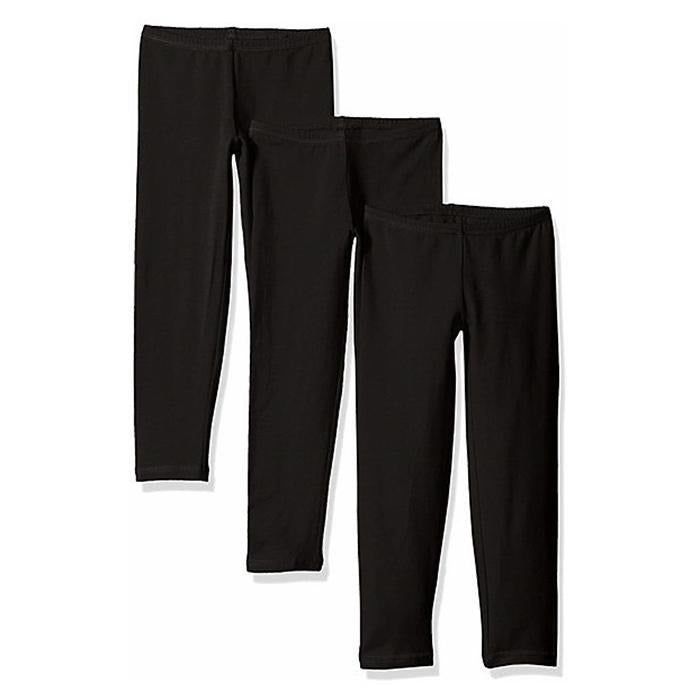 Hanes 3-Pack Girls Leggings Available in Small, Medium, Large, Exrtra Large - BargainJunkie