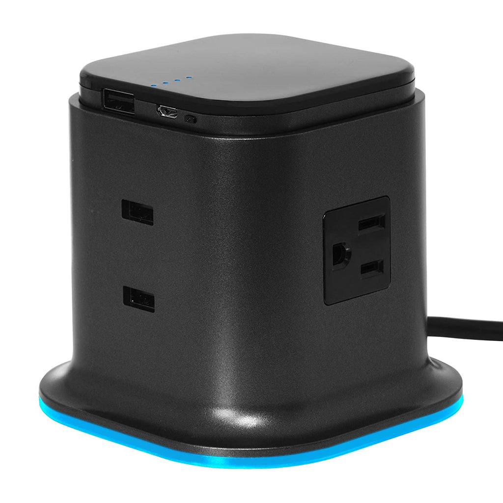 100 Percent Charging Tower with Portable Power Pack