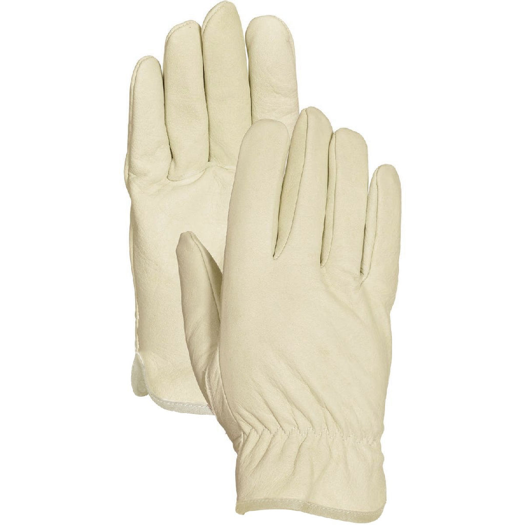 Bellingham Men's Insulated Tan Leather Gloves, Large - BargainJunkie