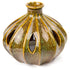 Scenterrific Warmer, Ribbed Vase, Tan & Red w/Vanilla Scented Disk