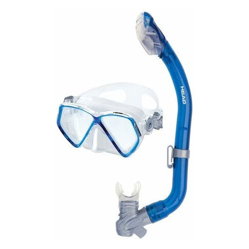 Image of Head Pirate Jr Dry Mask and Snorkel Combo, Blue