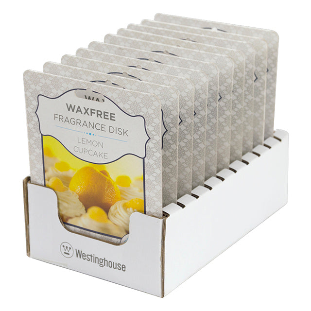 Westinghouse Wax Free Fragrance Disk, Lemon Cupcake
