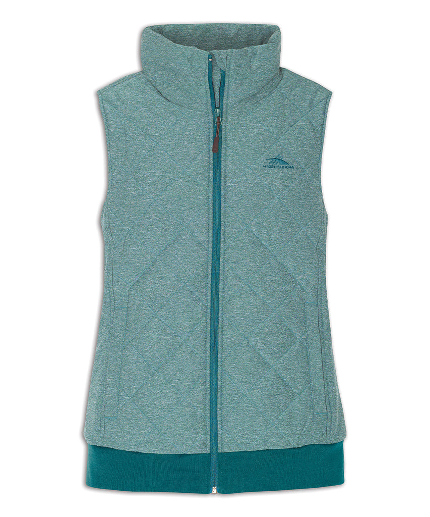 High Sierra Women's Lynn Insulated Vest Lagoon, M