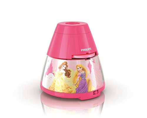 Philips Disney Princess 2-in-1 Portable LED Night Light and Image Projector