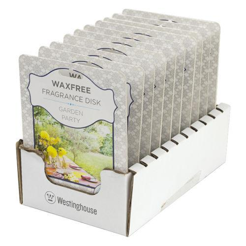2-Pack Westinghouse Wax Free Fragrance Disk, Garden Party - BargainJunkie