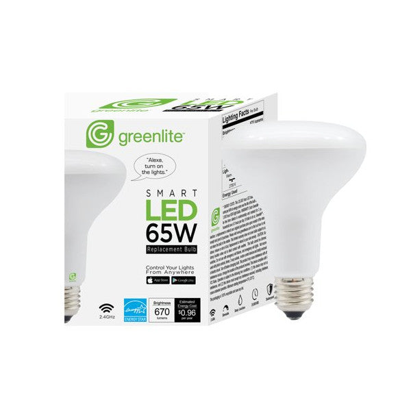 Image of Greenlite Smart LED 65W BR30 Replacement Floodlight