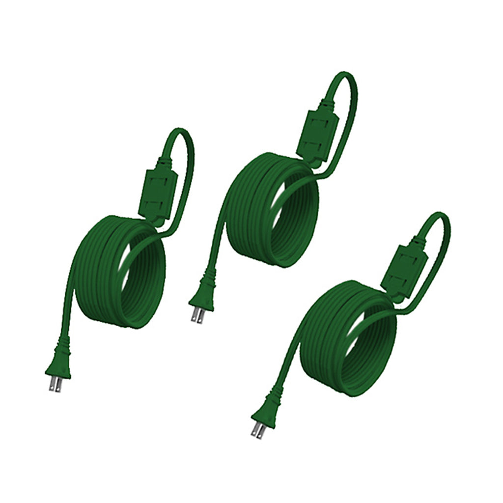 Stanley 3pk CordMax6 Extension Cords, Green