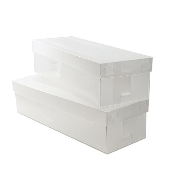 Evribox and More Hosiery Storage Box and Lid, 2 Pack - BargainJunkie