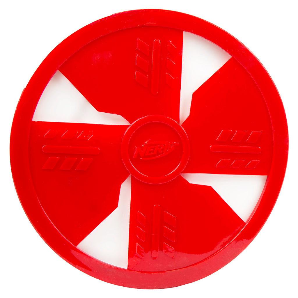 "Nerf Dog Toy 10"" Frisbee Disc, Red"