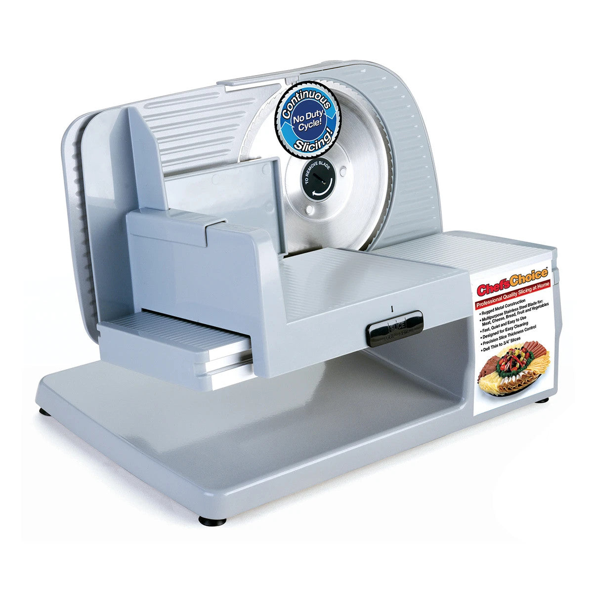 Image of Chef's Choice 6102 Premium Electric Food Slicer, Refurbished