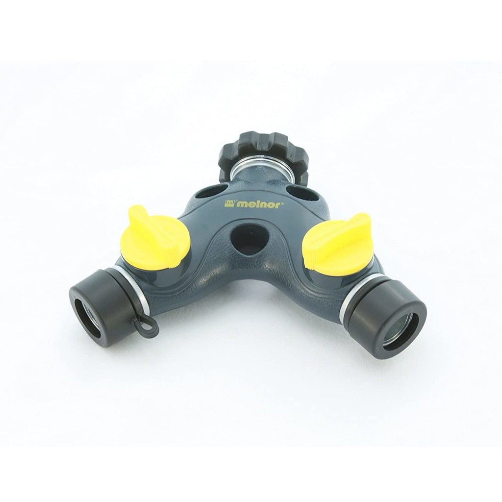 Melnor 15244 Metal 2 Way Hose Valve