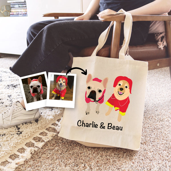 Dog Tote Bag - use my existing design