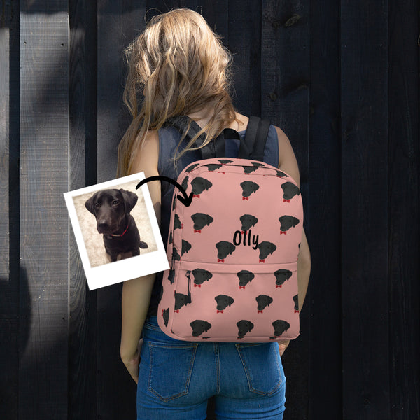 Dog Backpack - use my existing design