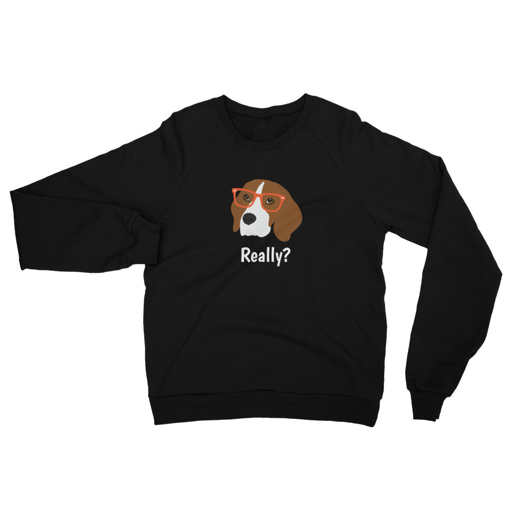 Beagle with Glasses Women's Sweatshirt