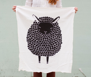 Black Sheep Tea Towel