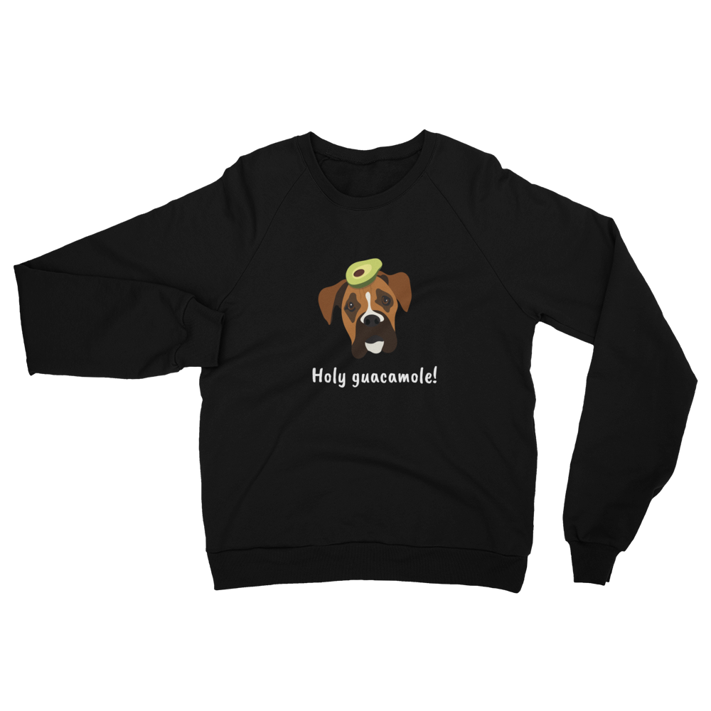Boxer with Avocado Women's Sweatshirt