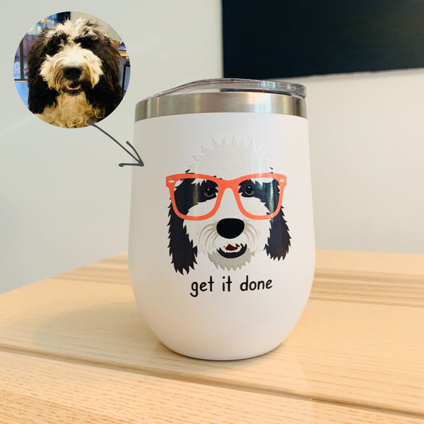 Custom Dog Tumbler (stainless steel)