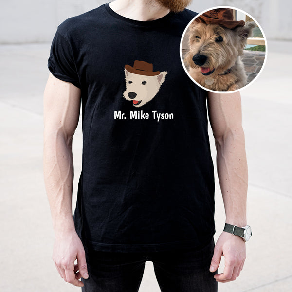 Dog Men's T-Shirt - use my existing design