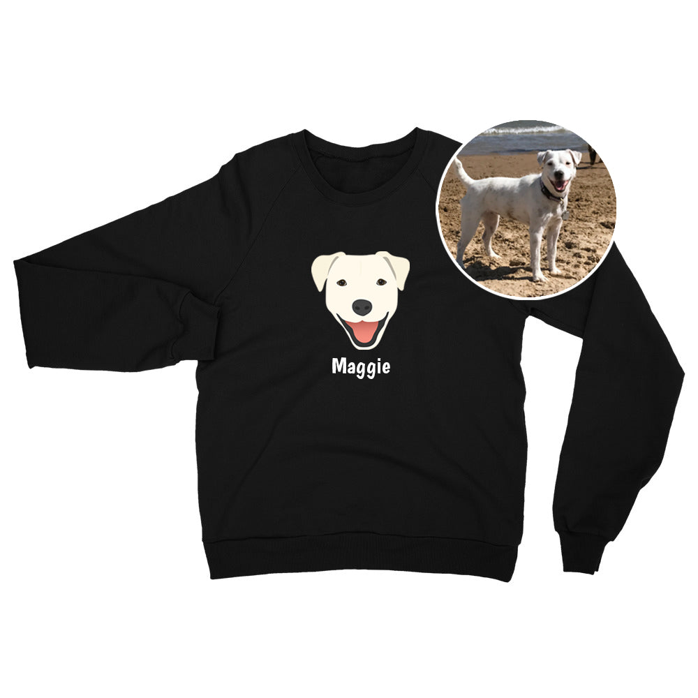 Dog Sweatshirt - use my existing design