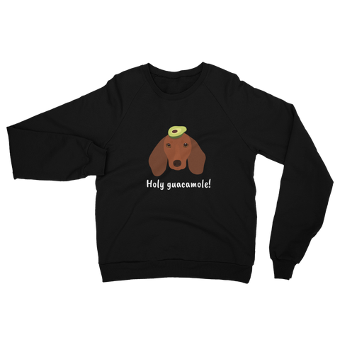 Dachshund with Avocado Women's Sweatshirt