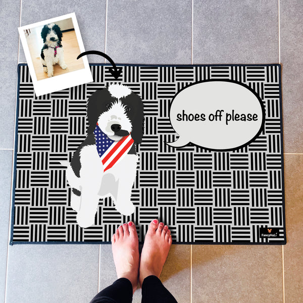 Custom Pet Doormat