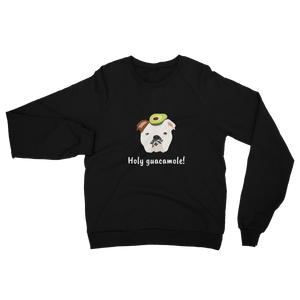 English Bulldog with Avocado Women's Sweatshirt