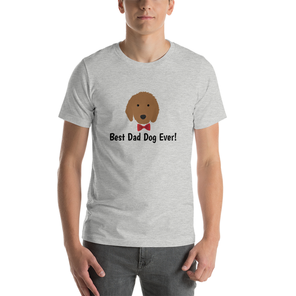 Golden Doodle with Bow Tie Men's T-Shirt