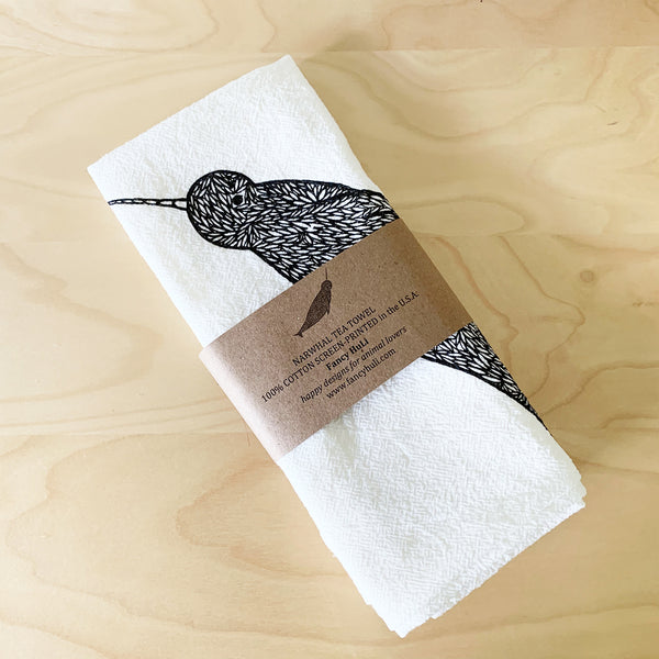 Narwhal Tea Towel