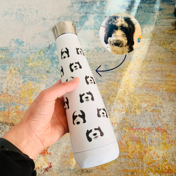 Custom Dog Water Bottle (stainless steel)
