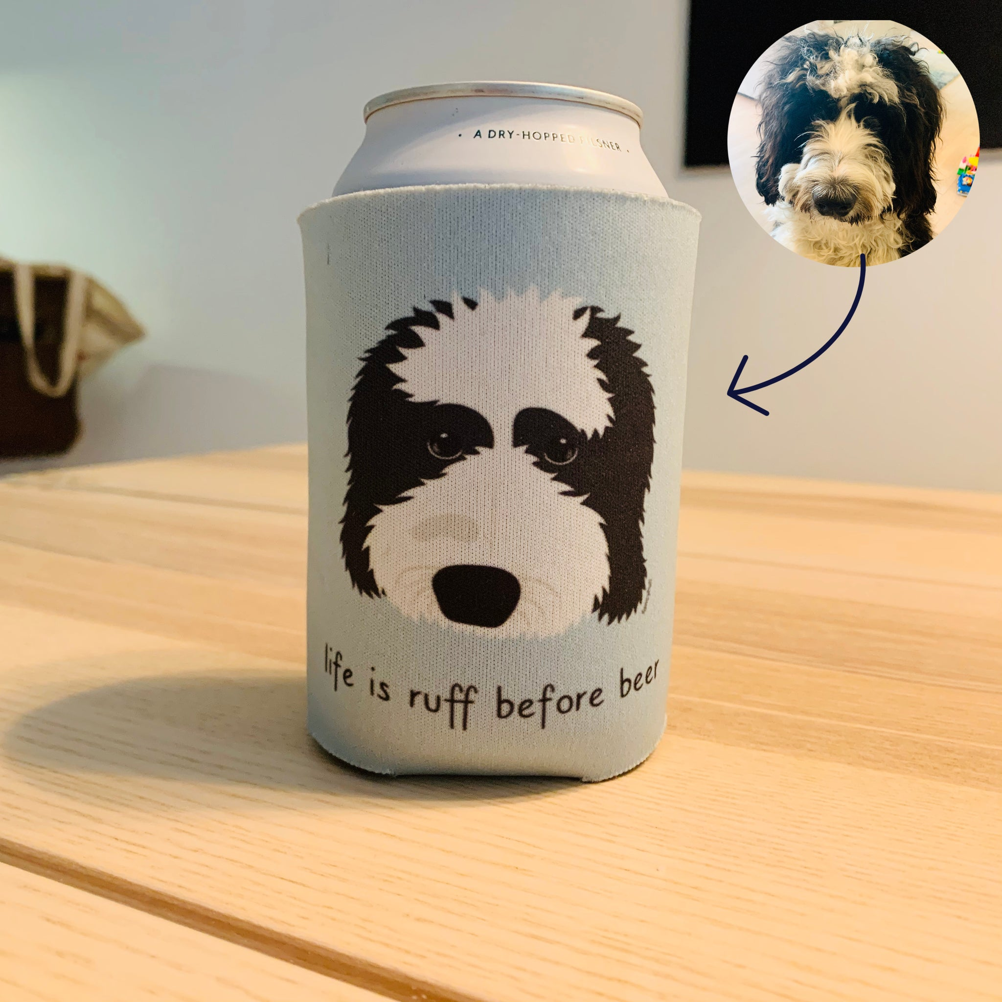 Custom Dog Can Cooler