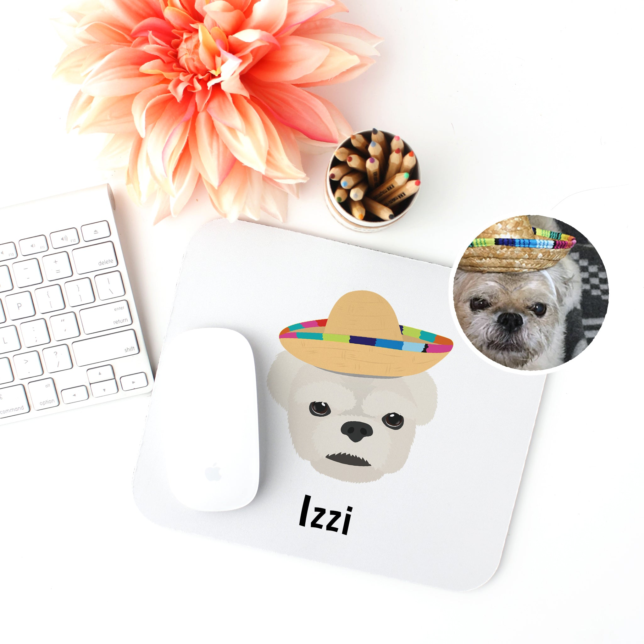 Dog Mouse Pad - use my existing design
