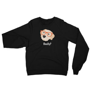 Labrador Retriever with Glasses Women's Sweatshirt