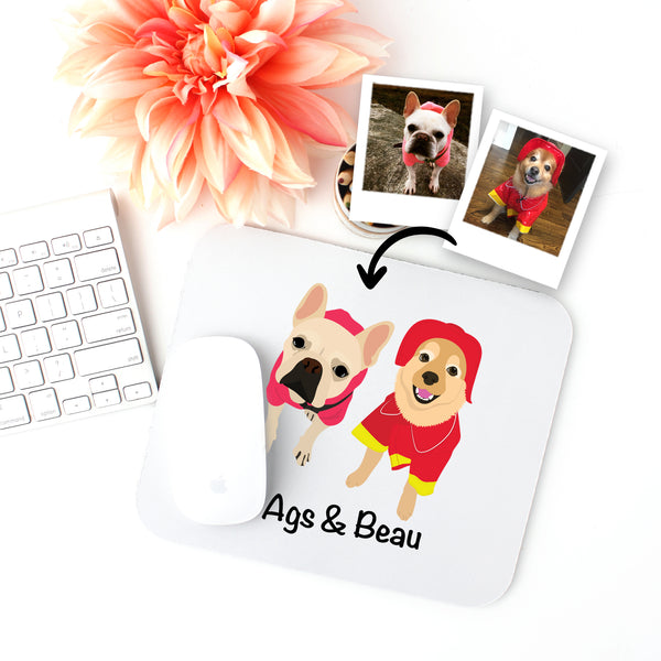 Custom Dog Mouse Pad