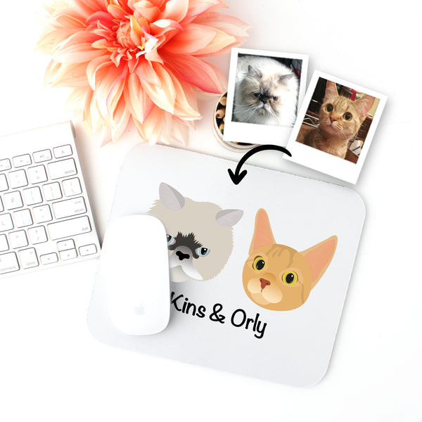 Custom Cat Mouse Pad