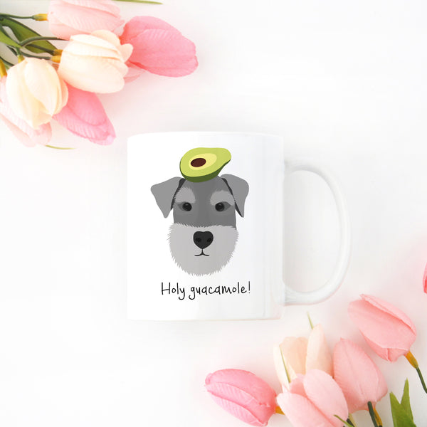 Schnauzer with Avocado Mug