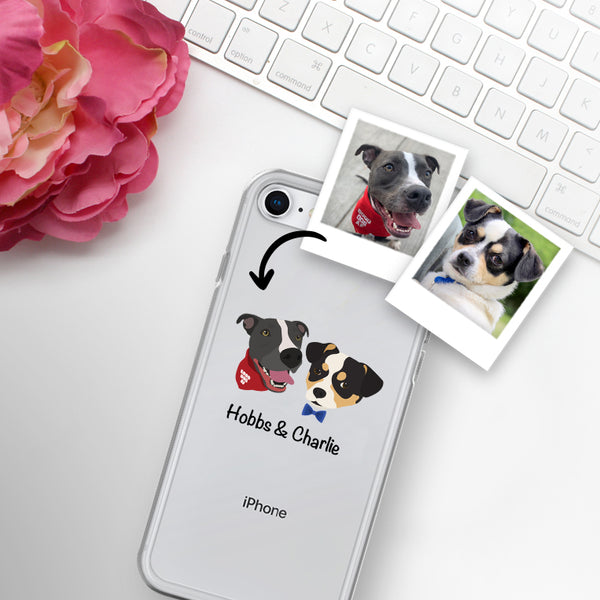 Custom Dog iPhone Case