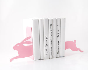 Running Bunny (Pink) Bookends