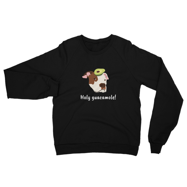 Pit Bull with Avocado Women's Sweatshirt