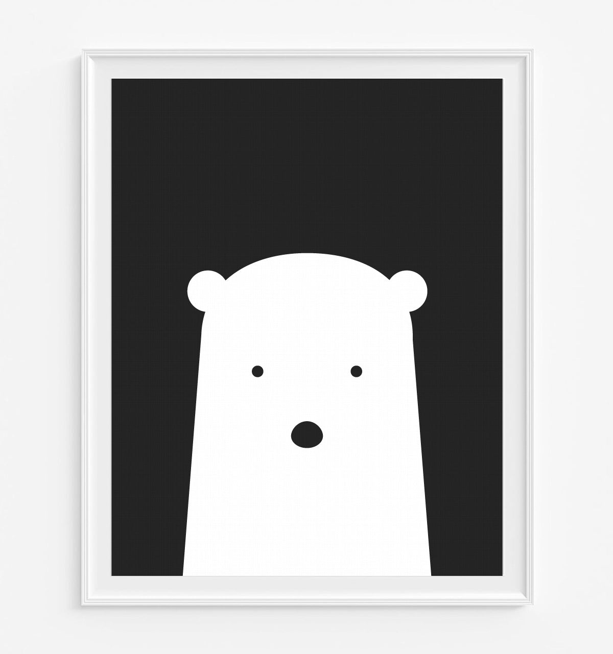 Polar Bear Art Print