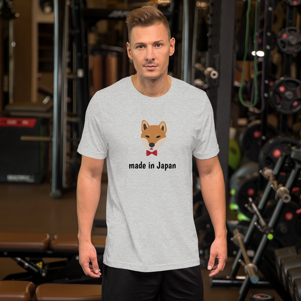 Shiba Inu with Bow Tie Men's T-Shirt
