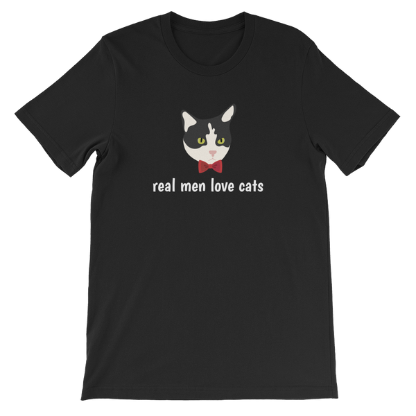 Tuxedo Cat with Bow Tie Men's T-Shirt