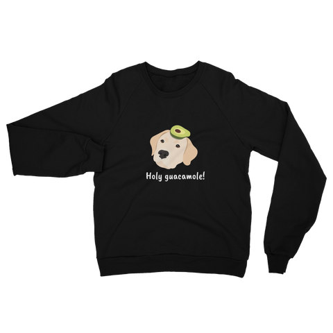 Labrador Retriever with Avocado Women's Sweatshirt