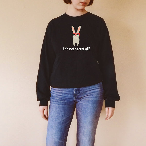 Bunny with Glasses Women's Sweatshirt
