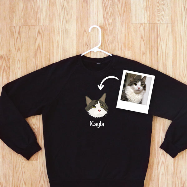 Custom Cat Women's Sweatshirt