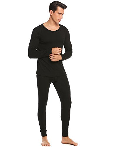 Avidlove Mens Cotton Long Johns Thermal Underwear Shirt and Pant 2PC Pajama Set