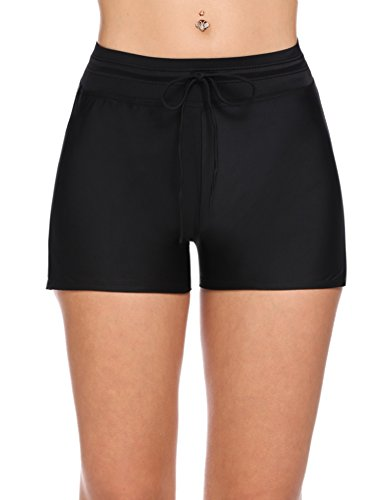 Avidlove Board Shorts Women Swimsuit Bottom Short Side Split Swimming Panty